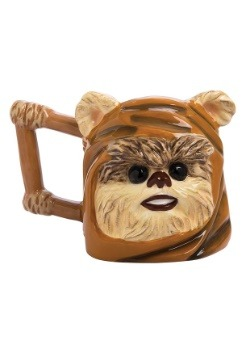Star Wars Ewok 24 oz Ceramic Sculpted Mug