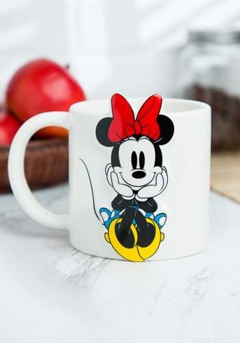 Disney Minnie Mouse 20oz Bas Relief Ceramic Mug