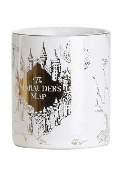 Harry Potter 4pc Marauder's Map Dinnerware Set3