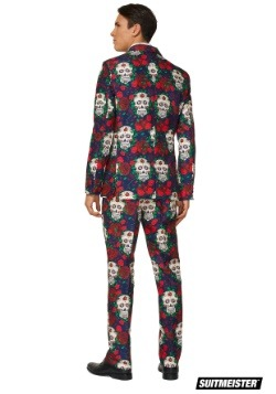 Mens Day of the Dead Suitmiester Suit Back