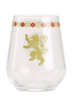 Lannister Logo 15 oz Stemless Wine Glass