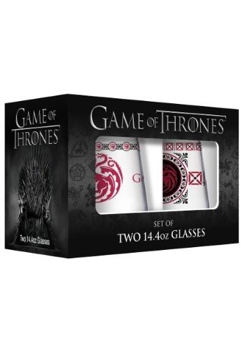2 Pack 15oz Targaryen Stemless Wine Glasses