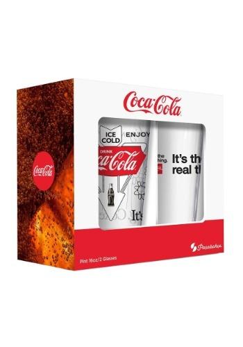 Coca-Cola 16oz Pub Glasses 2 Pack