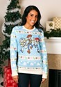 Toy Story Light Blue Adult Ugly Christmas Sweater