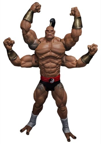 Goro Mortal Kombat Storm Collectibles 1:12 Action Figure