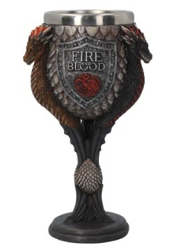 Game of Thrones House Targaryen Goblet