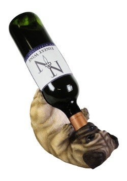 Pug Guzzlers Wine Bottle Holder 21.5 cm