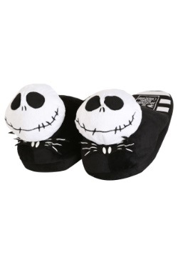 Nightmare Before Christmas Jack Skellington Mens Slippers
