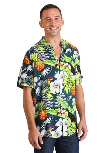 Men's Philadelphia Eagles Floral Shirt