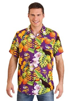 Minnesota Vikings Mens Floral Shirt