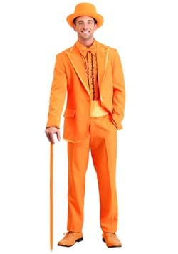 Orange Tuxedo Costume Adult