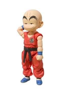 Kid Krillin Dragon Ball SH Figurearts Action Figure Alt 1