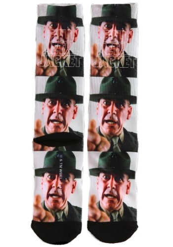 Adult Full Metal Jacket Sergeant Hartman Sublimated Socks