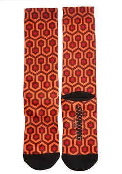 The Shinning Carpet Print Sublimated Socks For Adults