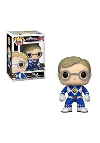 Pop! TV: Power Rangers- Blue Ranger Billy (no helmet)