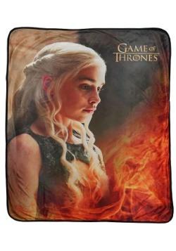 Daenerys Game of Thrones Fleece Throw