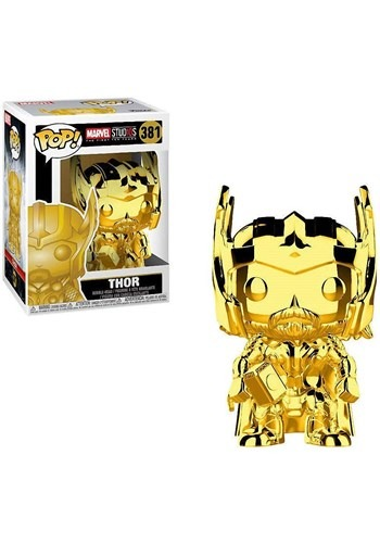 Pop! Marvel Studios 10- Chrome Thor