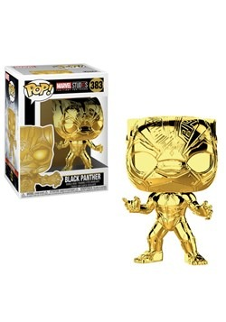 Pop! Marvel Studios 10- Chrome Black Panther
