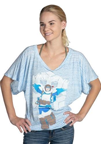 Women's Overwatch A-MEI-ZING! Blue Marble Dolman update