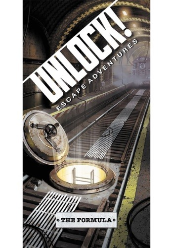 Unlock! The Formula Escape Room Card Game