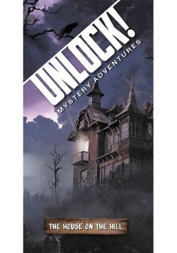 Unlock! The House on the Hill Escape Room Card Game