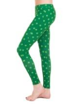 Tipsy Elves Women's Shamrock Leggings