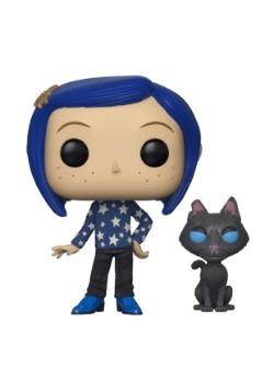 Pop! Movies: Coraline: Coraline w/ Cat Buddy alt 1
