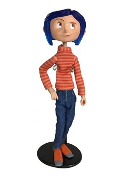 "Coraline in Striped Shirt 7"" Articulated Figure"