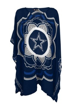 NFL Dallas Cowboys Peace Flower Caftan