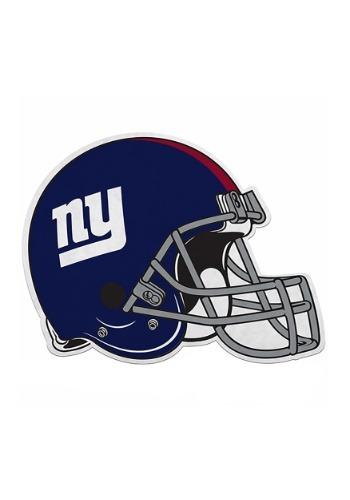 NFL New York Giants Die Cut Helmet Pennant