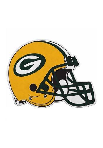 NFL Green Bay Packers Die Cut Helmet Pennant