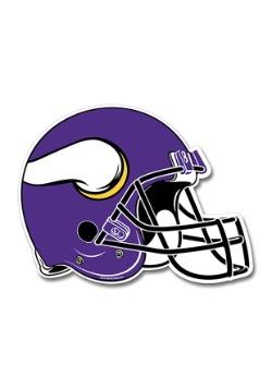 NFL Minnesota Vikings Die Cut Helmet Pennant