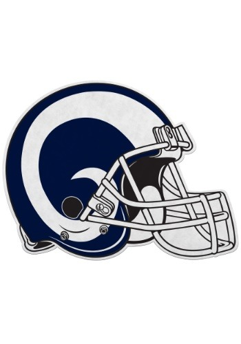 NFL Los Angeles Rams Die Cut Helmet Pennant