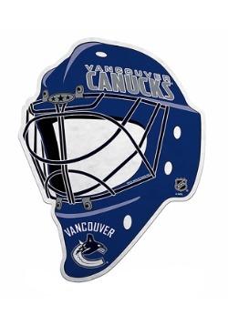 NHL Vancouver Canucks Die Cut Goalie Mask Pennant