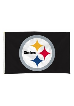 NFL Pittsburgh Steelers 3' x 5' Banner Flag