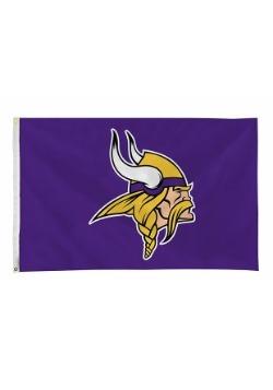 NFL Minnesota Vikings 3' x 5' Banner Flag