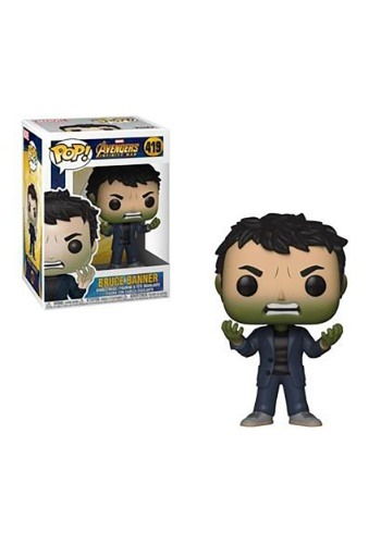 Pop! Marvel: Avengers Infinity War- Bruce Banner turning Gre
