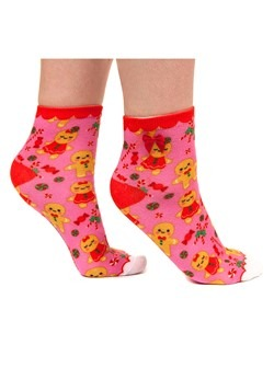 Irregular Choice Ginger Bread and Candy Cane Socks