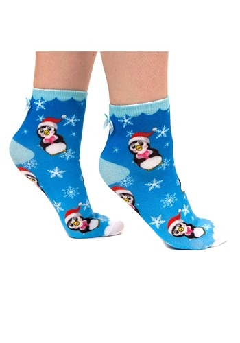 Irregular Choice Santa Penguin Socks