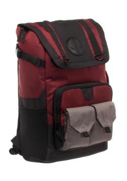Deadpool Black/Red Backpack
