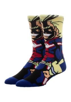 My Hero Allmight 360 Adult Socks1