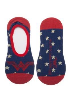 Women's Wonder Woman: 2 Pack No Show Liner Socks2