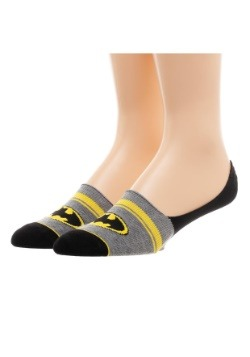 Batman Women's 2 Pack No Show Liner Socks4