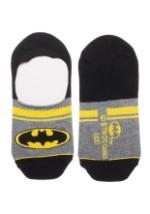 Batman Women's 2 Pack No Show Liner Socks3