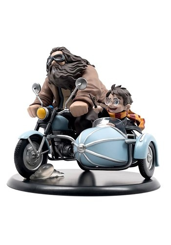 Harry Potter and Rubeus Hagrid Q-Fig
