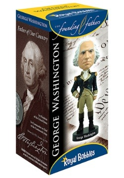 George Washington Bobblehead Alt 1