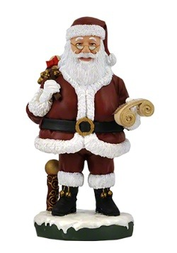 Royal Bobbles Santa Bobblehips Figure