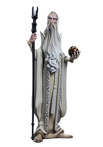 The Lord of the Rings Saruman Mini Epics Vinyl Figure
