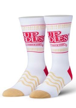 Adult Odd Sox Cup Noddles Ramen Knit Socks