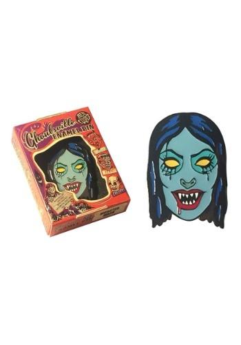 Vampyra Girl Halloween Enamel Pin